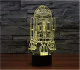 Star Wars 3D LED Night Lights - Blissful Delirium