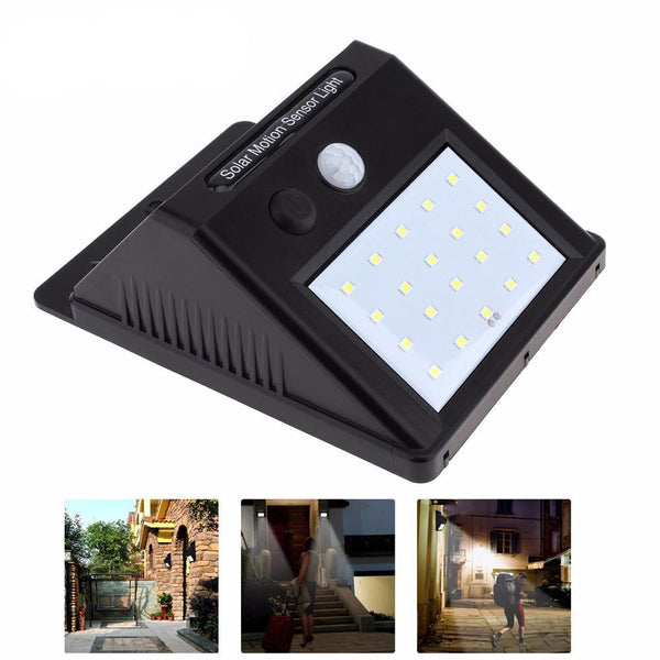 SOLAR-POWERED MOTION SENSOR LED LIGHT - WIRELESS, NO INSTALLATION - Blissful Delirium