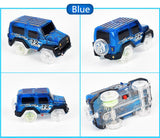 Electronics LED Car Toys Flashing Lights Play with Tracks Together - Blissful Delirium