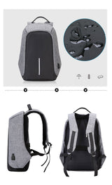 Securepack™ Best Anti-Theft USB Charging Travel Backpack - Blissful Delirium