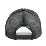 Hip Hop Black Leopard Curved Baseball Cap Summer Mesh Snapback - Blissful Delirium