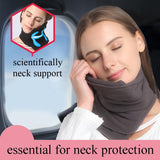 Super Soft Portable And Comfortable Scarf-like Neck Pillow - Blissful Delirium