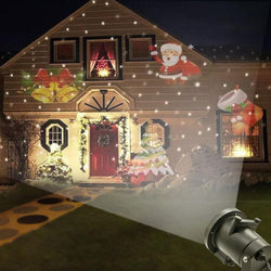 Laser Projector Outdoor LED Waterproof for Home Garden & Indoor Decoration - 12 Patterns - Blissful Delirium