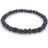 Elegant Pave CZ Ball Natural Stone Beaded Bracelets - Blissful Delirium