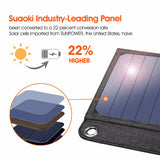 14W Solar Cells Charger 5V 2.1A USB Output Devices Portable Solar Panels for Smartphones - Blissful Delirium
