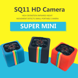 Portable SQ11 HD 1080P Car Home CMOS Sensor Night Vision Camcorder Micro Cameras Camera DVR DV Motion Recorder Camcorder - Blissful Delirium