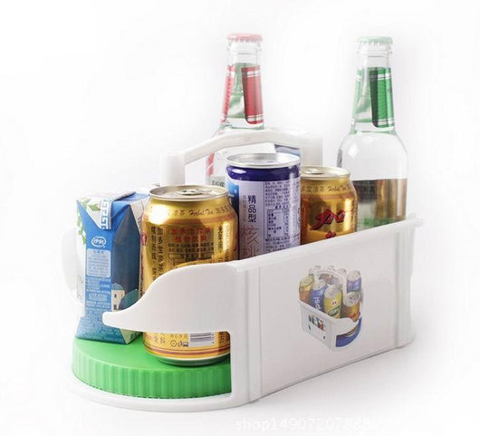 Well-known Mini Lazy Susan For In Cabinets and The Fridge – Blissful Delirium BI28