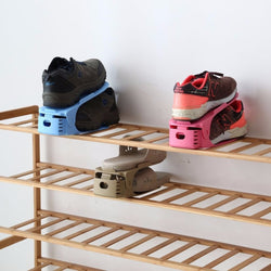 Double Shoe Rack Organizer