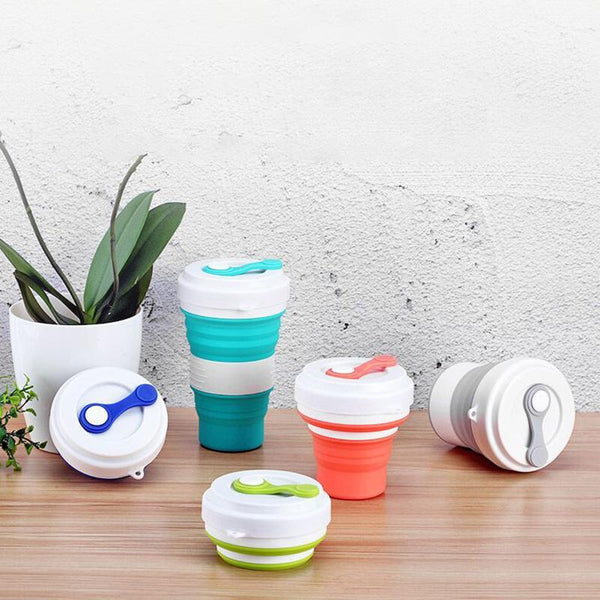Perfect On-the-go Collapsible Travel Cup - Blissful Delirium