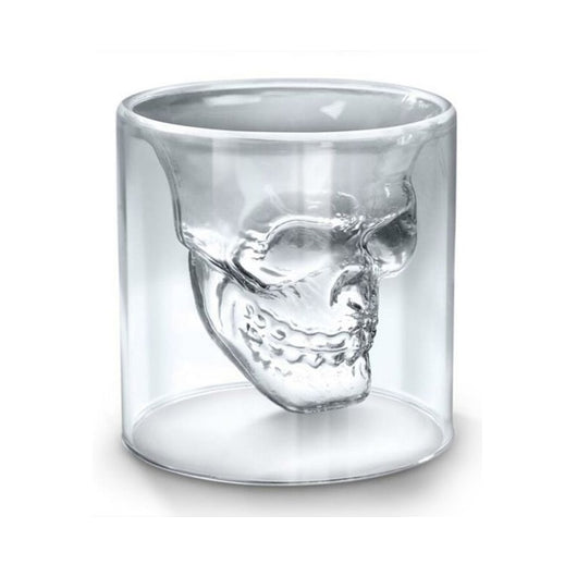 Skull Double Wall Glass - Blissful Delirium