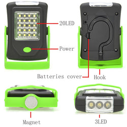 Adventure Kings Illuminator 23 LED Work Light | Hook & Magnet Mounting