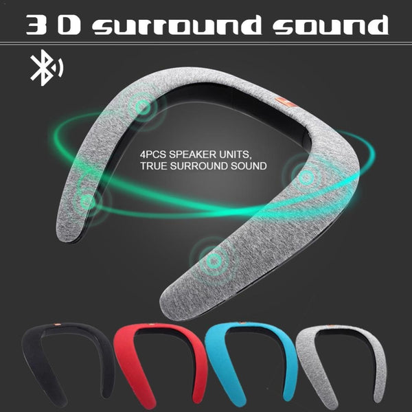 Wireless Wearable Speaker | Neckband Bluetooth Speaker | Portable Personal Speaker - Blissful Delirium
