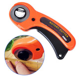 45mm Circular Cutter Rotary Cutter Fabric Cutting Knife Cloth Cutter Quilters Sewing Quilting Fabric Cutting Craft Tools - Blissful Delirium