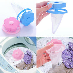 Magic Pet Hair Catching Washing Machine Flower