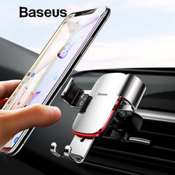 Intelligent Gravity Sensing 360°Rotation Cell Phone Car Holder - Blissful Delirium