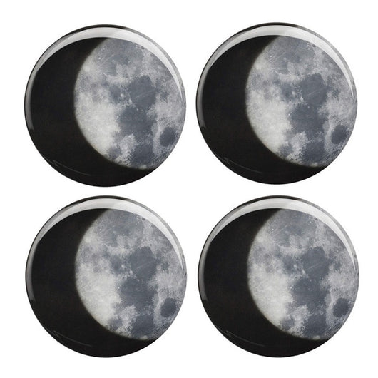 Heat-Activated Moon Coasters (Set of 4) - Blissful Delirium
