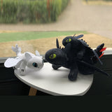 How To Train Your Dragon Toothless and Light Fury Plush Stuffed Toy - Blissful Delirium
