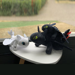 How To Train Your Dragon Toothless and Light Fury Plush Stuffed Toy