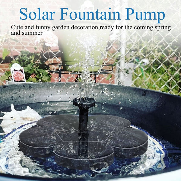 Solar Powered Water Fountain - Blissful Delirium