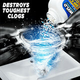 Powerful All-Purpose Quick Foaming Sink & Toilet Cleaner