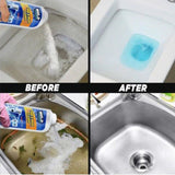 Powerful All-Purpose Quick Foaming Sink & Toilet Cleaner - Blissful Delirium