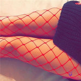 Stocking - Women Fishnet Tights Seamless Mesh Pantyhose - Blissful Delirium