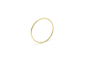 14 yellow gold classic band ring - Beach Jewelry Kailua Hawaii