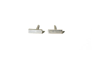 Sterling Silver bar earring