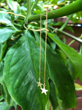 14k yellow gold star earring - Beach Jewelry Kailua Hawaii