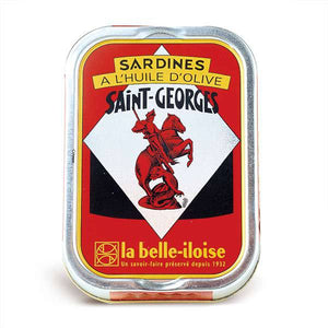 Sardines filets in St Georges extra virgin olive oil - Sardines St George a l'huile d'olive vierge extra