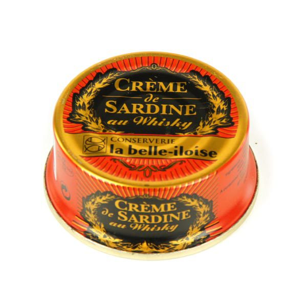 Sardines and Whisky creme - Mousse de sardines au whisky