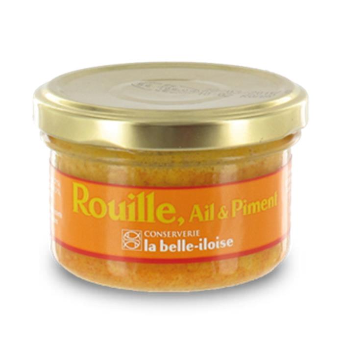 Rouille sauce with garlic and red peppers - sauce rouille ail et piment