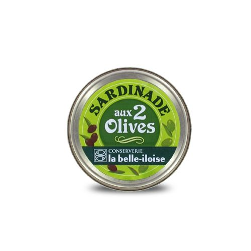 Sardine spread with green and black olives - Sardinade aux 2 olives