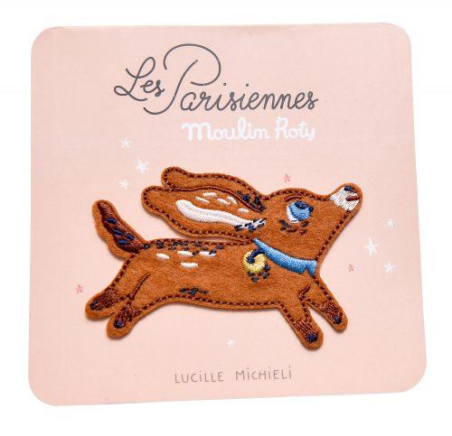 Philibert the Dog - Iron on Patch - Les Parisiennes