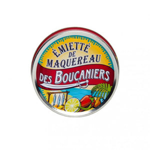 Mackerel chunks buccaneers style (lime, peppers and chillies) - Émietté de maquereau des boucaniers