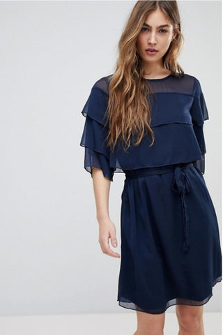 Cecile Layered Frill Dress