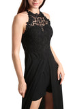 Black Dress with Short Detail - namshi dress dubai