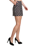 Black Short In Polka Dot - namshi dress dubai