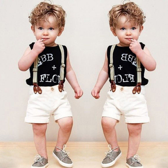 Baby Boy Clothes Summer Children Boy Clothing Sets Kid Baby Clothes