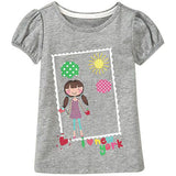 Kids 18M-6Y Baby Boys Girls T-Shirt New Summer Short Sleeve
