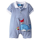Baby Rompers Summer Baby Boy Clothing Sets