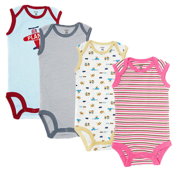 5Pcs  Baby Clothes Cotton Baby Boy and Girl for 0-12 Month