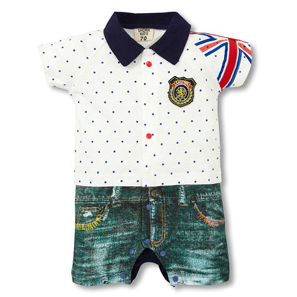 Baby Boy Clothes Summer Baby Rompers Fashion Newborn