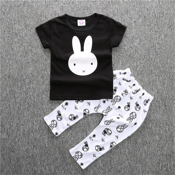 Summer Baby Romper Fashion Baby Boy Clothing Sets T-shirt Pants