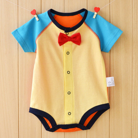 Small Size Baby Rompers Summer Baby Girls Clothing Sets Baby Boy