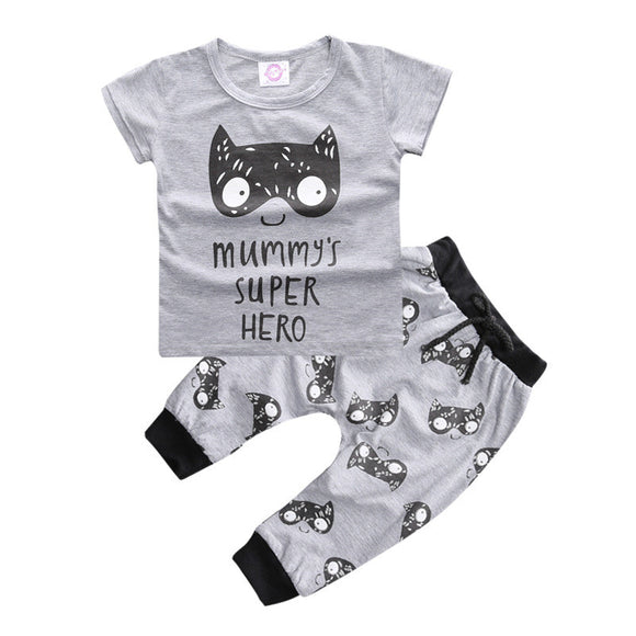 Baby Boys Clothes Summer Baby Boy Clothing Sets