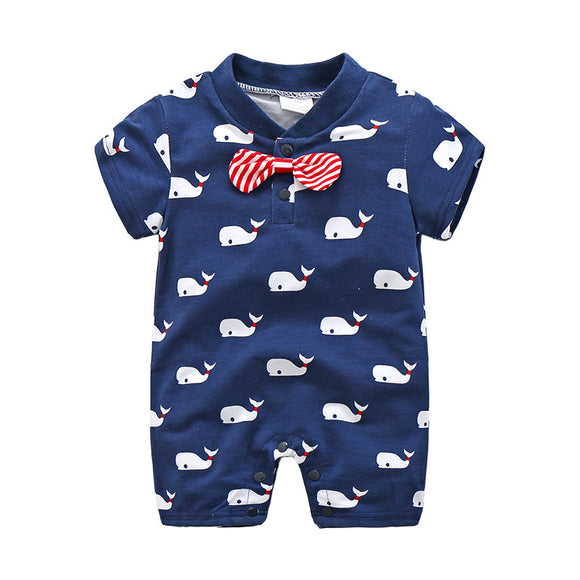 Baby Boy Clothes Summer Baby Rompers Newborn for 4-24 Month