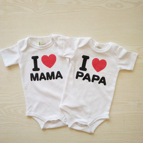 2Pcs Baby Rompers Summer Baby Girl Clothes and Baby Boy Clothes