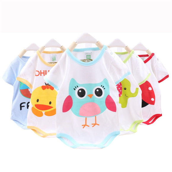 Baby Rompers Summer Baby Boy Clothes Cotton and Girl Clothing