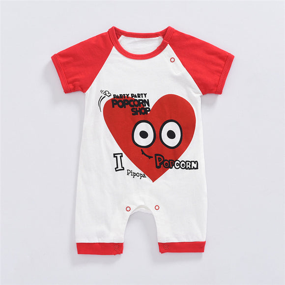 Baby Rompers Summer Baby Boy Clothes- Baby Girl Clothing Sets Cartoon